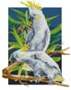 Two Sulpher Crested Cockatoos - Cross Stitch Chart