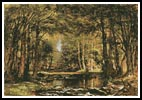 A Catskill Brook - Cross Stitch Chart