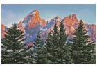 Alpine Mountains - Cross Stitch Chart