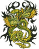 Artistic Dragons - Cross Stitch Chart
