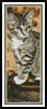 Autumn Kitten Bookmark - Cross Stitch Chart