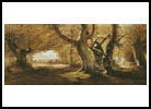 A Wooded Landscape - Cross Stitch Chart
