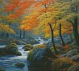 Beside the River (Cushion) - Cross Stitch Chart