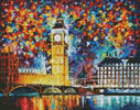 Big Ben, London (Large) - Cross Stitch Chart