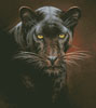 Black Panther Portrait - Cross Stitch Chart