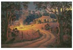 Bush Bonfire - Cross Stitch Chart