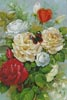 Butterfly and Roses - Cross Stitch Chart