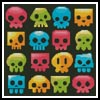 Candy Skulls - Cross Stitch Chart