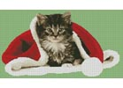 Christmas Kitten - Cross Stitch Chart