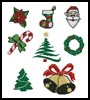 Christmas Motifs - Cross Stitch Chart