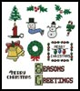 Christmas Motifs 2 - Cross Stitch Chart