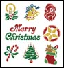 Christmas Motifs 4 - Cross Stitch Chart