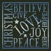 Christmas Square (Blue) - Cross Stitch Chart