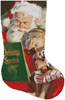 Christmas Stories Stocking (Right) - Cross Stitch Chart