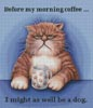 Before My Morning Coffee - Cross Stitch Chart