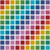 Coloured Square - Cross Stitch Chart