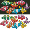 Colourful Clownfish - Cross Stitch Chart