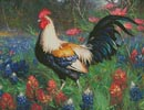 Colourful Rooster 2 - Cross Stitch Chart