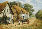 Delivering the Milk - Cross Stitch Chart