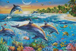 Dolphin Bay - Cross Stitch Chart