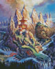 Dragon Mountain - Cross Stitch Chart