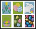 Easter Cards - Cross Stitch