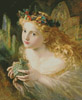 Take the Fair Face of Woman (Large) - Cross Stitch Chart