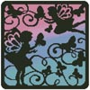 Fairy Silhouette Square 5 - Cross Stitch Chart
