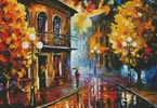 Fall Rain 2 (Large) - Cross Stitch Chart