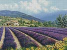 Fields of Lavender - Cross Stitch Chart