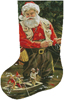 Fishing Buddies Stocking (Left) - Cross Stitch Chart