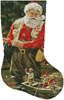 Fishing Buddies Stocking (Right) - Cross Stitch Chart