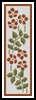 Floral Bookmark 1 - Cross Stitch Chart