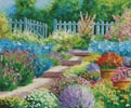 Flowers of the Garden (Large) - Cross Stitch Chart