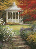 Garden Steps (Crop) - Cross Stitch Chart