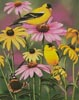 Golden Finches - Cross Stitch Chart