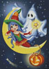 Halloween Friends - Cross Stitch Chart