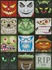 Halloween Minis - Cross Stitch Chart