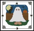 Halloween Teddy Border 1 - Cross Stitch Chart