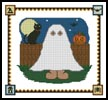 Halloween Teddy Border 2 - Cross Stitch Chart