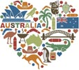 Heart of Australia - Cross Stitch Chart