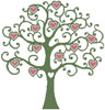 Heart Tree - Cross Stitch Chart