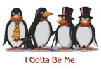 I Gotta Be Me - Cross Stitch Chart
