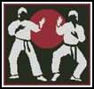 Karate - Cross Stitch Chart