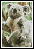 Koala Card - Cross Stitch Chart