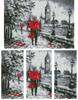 London Abstract (Large) - Cross Stitch Chart