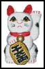 Lucky Cat (Left) - Cross Stitch Chart
