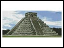 Mayan Pyramid - Cross Stitch Chart