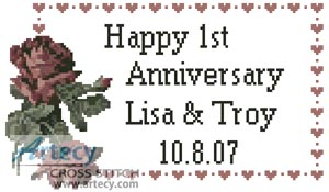 Wedding & Anniversary XStitch Themes - Cross Stitch World