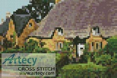 Mini English Cottage 1 - Cross Stitch Chart